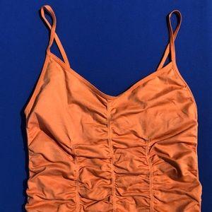 BCBG orange camisole